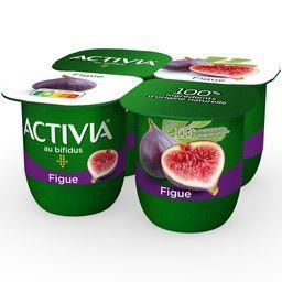 Danone Danone Activia - Lait fermenté au bifidus figue