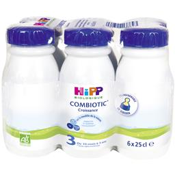 Combiotic Croissance - Lait bébé liquide 3 BIO, 10 m à 3 ans