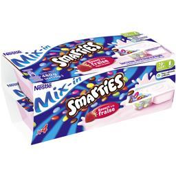 Smarties - Yaourt à la fraise