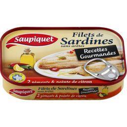 Recettes Gourmandes - Filets de sardines 2 piments &...
