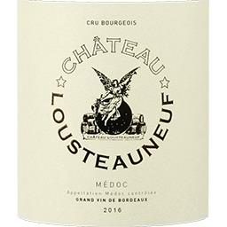 Médoc Château Lousteauneuf - Cru Bourgeois vin Rouge...
