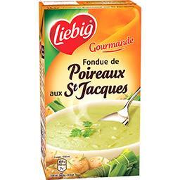 Les Gourmandes - Soupe Fondue de poireaux aux St Jac...