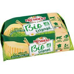 BIO - Beurre Le Moulé demi-sel BIO