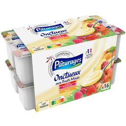 Yaourt Onctueux aux fruits mixés panache