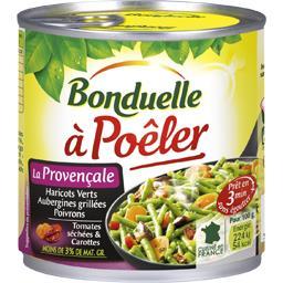 Légumes cuisinés à poêler à la provençale