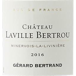 Minervois La Livinière Château Laville Bertrou Cuvée Amiral vin Rouge 2016