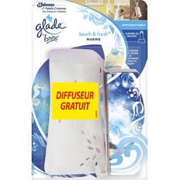 Glade Touch & Fresh - Désodorisant diffuseur mobile marine la recharge de 10 ml