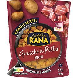 Giovanni Rana Gnocchi à poêler Bacon