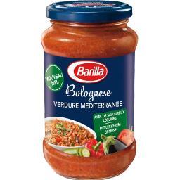 Sauce Bolognese Verdure Mediterranee