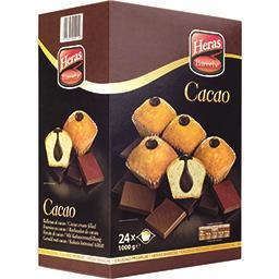 Madeleine fourrée cacao