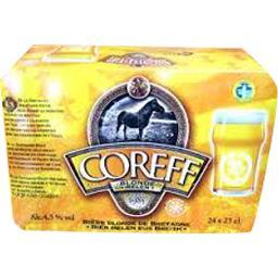 Bière blonde de Bretagne