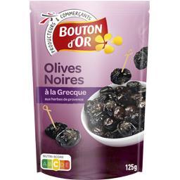 Olives noires à la grecque aux herbes de Provence