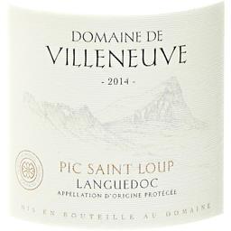 Languedoc-Pic Saint Loup, vin rouge