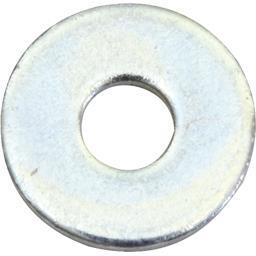 Rondelles plates larges acier zingué 4mm