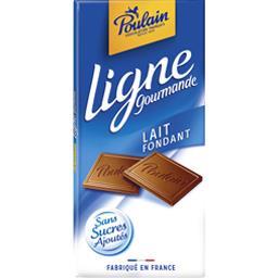 Ligne Gourmande - Chocolat lait fondant sans sucres ...