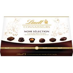 Lindt Connaisseurs - Assortiment bonbons chocolats noir sé... la boite de 40 - 400 g