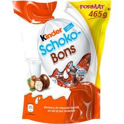 Kinder Schoko-Bons - Bonbons de chocolat fourrées lait et n...
