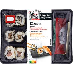 Saveur du Japon - Assortiment Nigiris et California ...