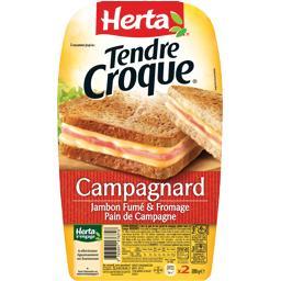 Tendre Croque - Croque-monsieur Campagnard