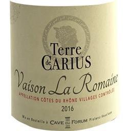 Côtes du Rhône Villages Vaison la Romaine, vin rouge