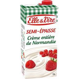 Crème de Normandie semi-épaisse entière