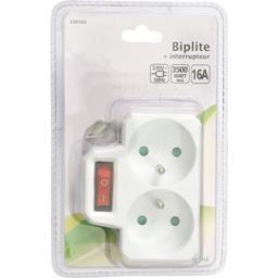 Biplite + interrupteur 230V-50Hz 3500W 16A