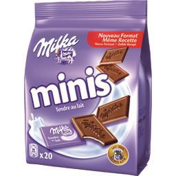 Chocolat Minis tendre au lait