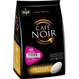 Legal Dosettes de café noir le paquet de 48 dosettes - 333 g