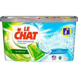 Le Chat Expert - Capsules de lessive gel détachant + poudre ...