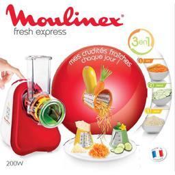 Robot multifonction Fresh Express 3en1, rouge