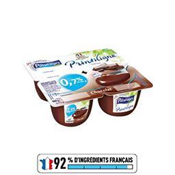 Printiligne, crèmes desserts au chocolat allégées
