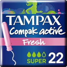 Compak - Tampons avec applicateur Active Fresh Super