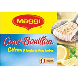 Court-bouillon citron & touche de fines herbes