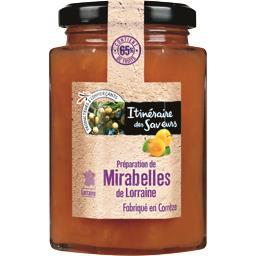 Préparation de Mirabelles de Lorraine