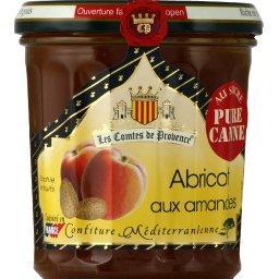 Confiture méditerranéenne d'abricot aux amandes