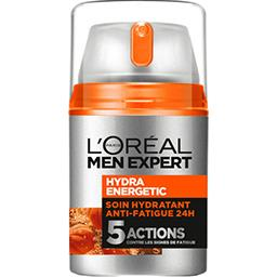 L'Oréal Men Expert Soin hydratant anti-fatigue quotidien, Hydra Energet...