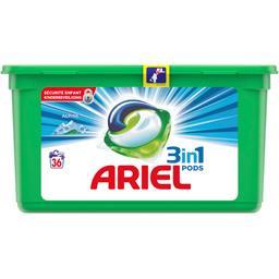 Ariel Alpine - 3en1 - lessive en capsules - 36 lavages