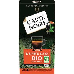 Capsules de café Espresso BIO