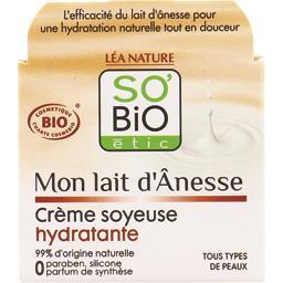 Mon Lait d'Ânesse - Crème soyeuse hydratante BIO