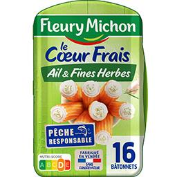 Le Cœur Frais - Bâtonnets fromage ail & fines herbes