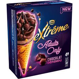 Nestlé Extrême Glaces Chocolat Défendu