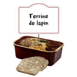 Terrine lapin au Montlouis