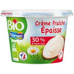 Crème fraîche épaisse 30% mat gr entière BIO
