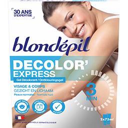 Gel décolorant Decolor' Express, visage & corps