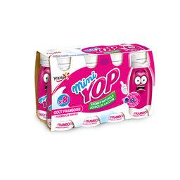 Yop - Mini yaourt à boire goût framboise