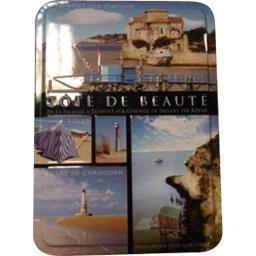 Boîte souvenirs galettes Côte de Beauté