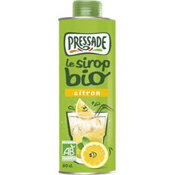 Le Sirop BIO citron