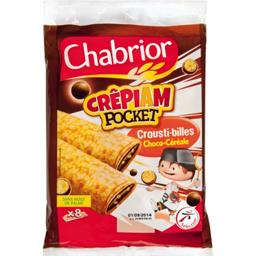 Crêpiam Pocket Crousti-billes choco-céréale