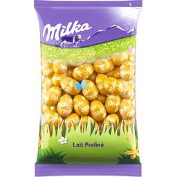 Milka Œufs en chocolat au lait praliné croquant