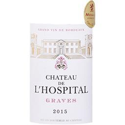 Graves Château L'Hospital vin Rouge 2015